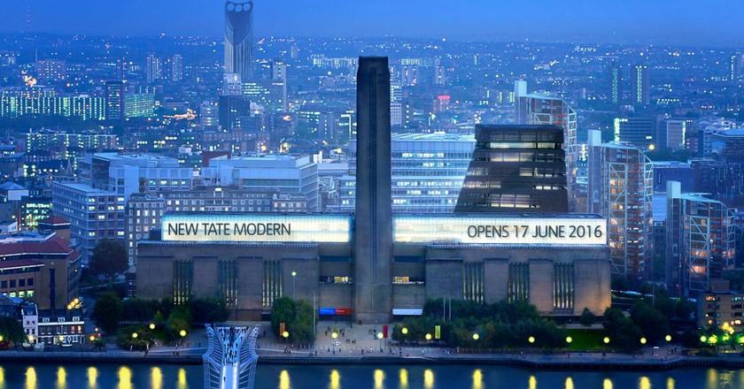 The new Tate Modern © Hayes Davidson and Herzog & de Meuron/Tate