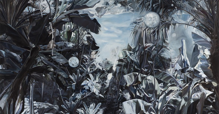 Wang Zhibo, 'Rise, Fall', 2016, Oil and acrylic on canvas, 190x290cm   Courtesy of Edouard Malingue Gallery