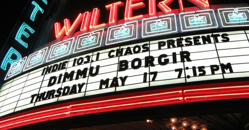 The Wiltern marquee | © Wikimedia/Geographer