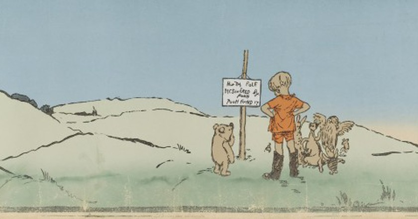 Winnie-the-Pooh chapter 'Christopher Robin leads an expedition' | © DcoetzeeBot / WikiCommons