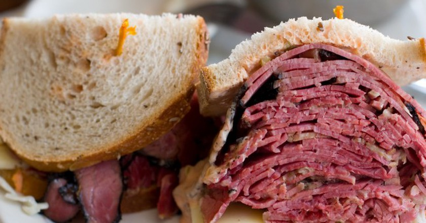 Corned Beef and Pastrami Sandwich | © Brad Greenlee/Flickr