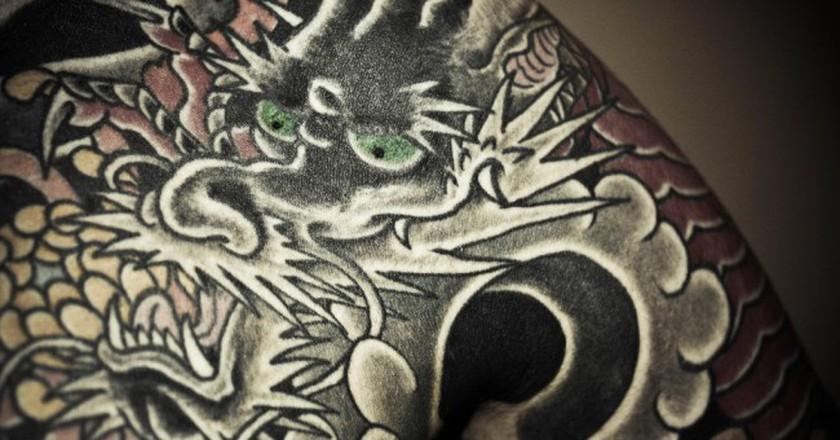Dragon tattoo © mike/Flickr