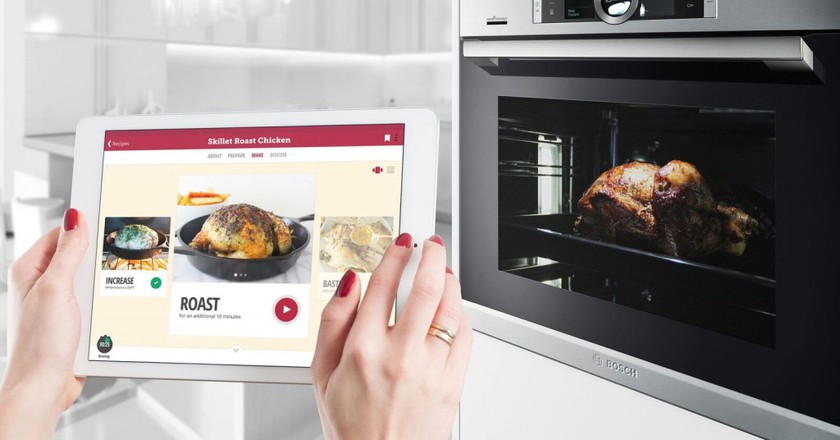 The Bosch Oven and Drop App. | Courtesy Drop.