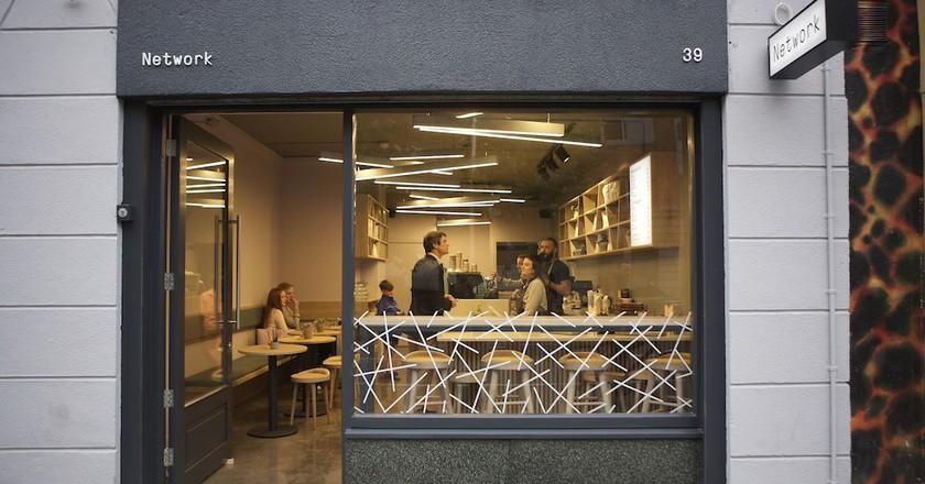 Network Café, Dublin   Courtesy of Network