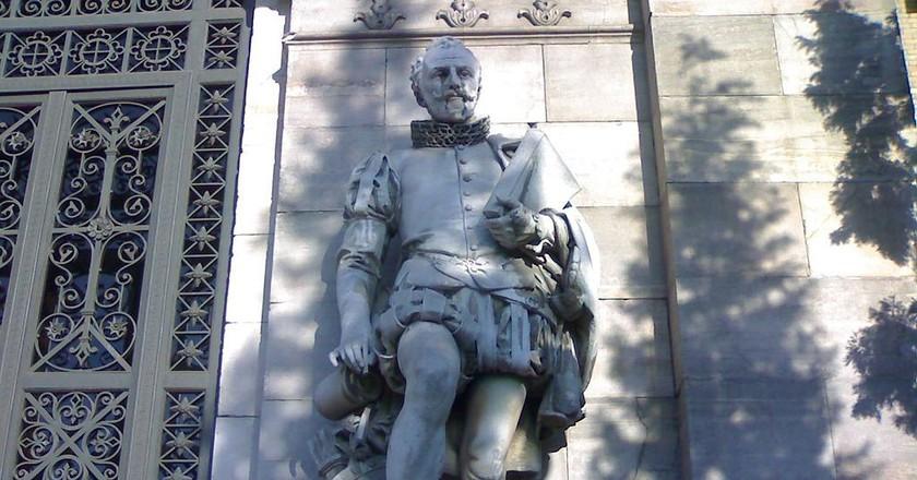 Miguel de Cervantes at the National Library   ©ÁWá