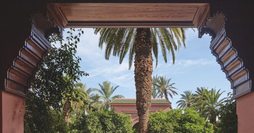 Royal Mansour gardens in Marrakech  | © Royal Mansour
