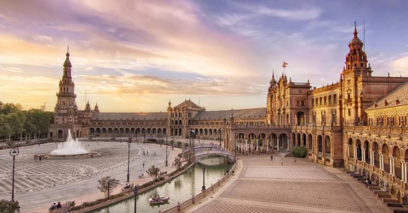 Plaza de España Seville   © FranciscoColinet