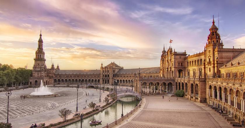 A History Of Seville S Plaza De Espa 241 A In 1 Minute