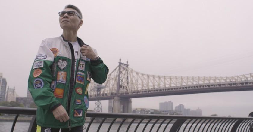 Raymond Choy, 65, will run his 19th consecutive New York City Marathon on Nov. 6.   © Drew English