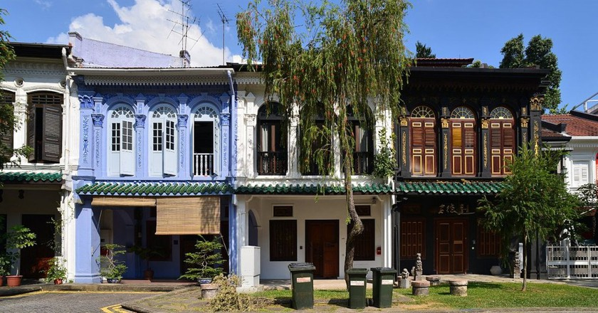 Perannakan Houses on Emerald Hill | © Nicolas Lannuzel/WikiCommons