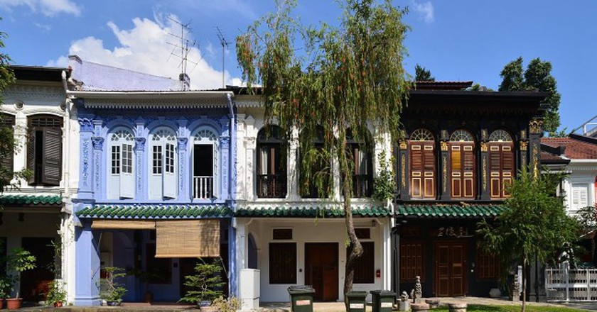 Perannakan Houses on Emerald Hill | © Nicolas Lannuzel/WikiCommons