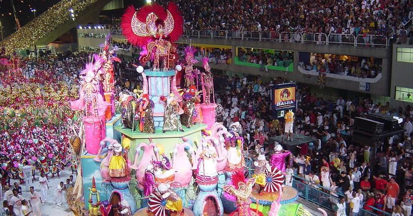 The samba schools  © Alan Betensley/WikiCommons