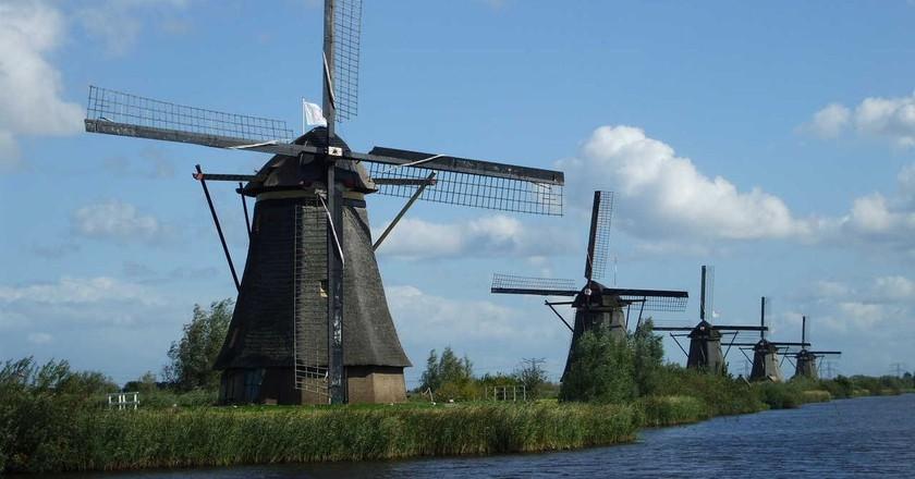 The mill network at Kinderdijk-Elshout   © Lidia Fourdraine/Wiki Commons
