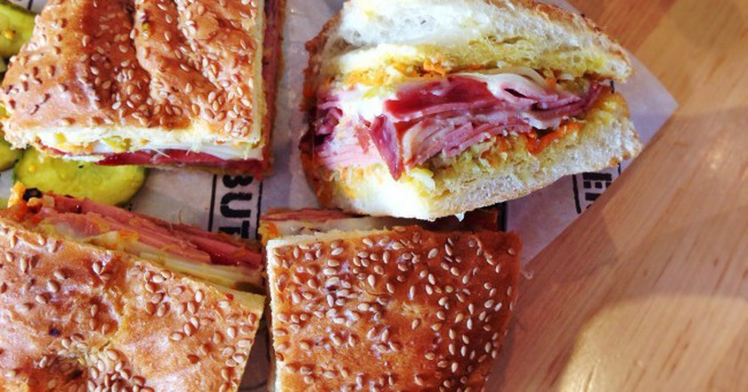 Muffuletta from Cochon Butcher | © T.Tseng/Flickr