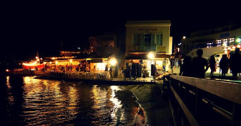 Mykonos by night   © Alessandro Bonvini/Flickr