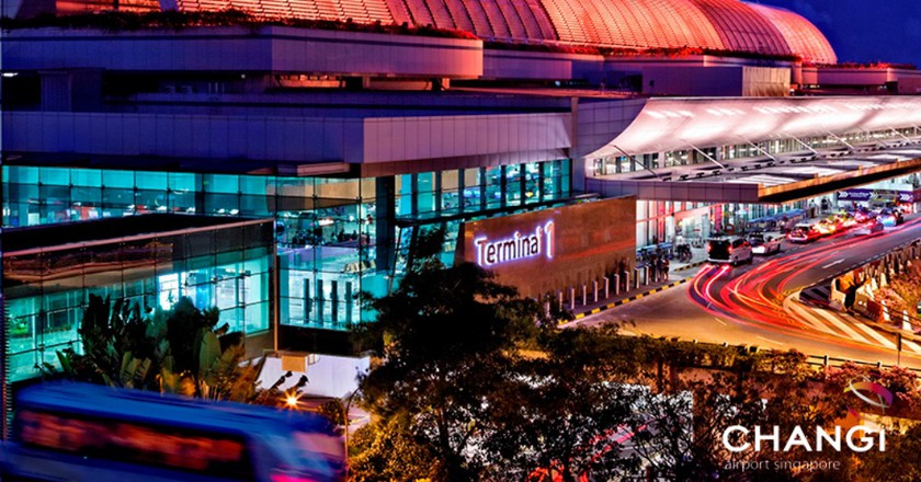 Terminal 1 - Curbside and Facade   Courtesy of Changi Airport