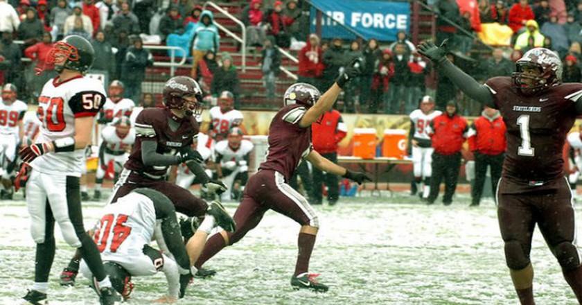 Phillipsburg beat Easton 3-0 in 2010 thanks to an overtime field goal. | © LehighValleyLive