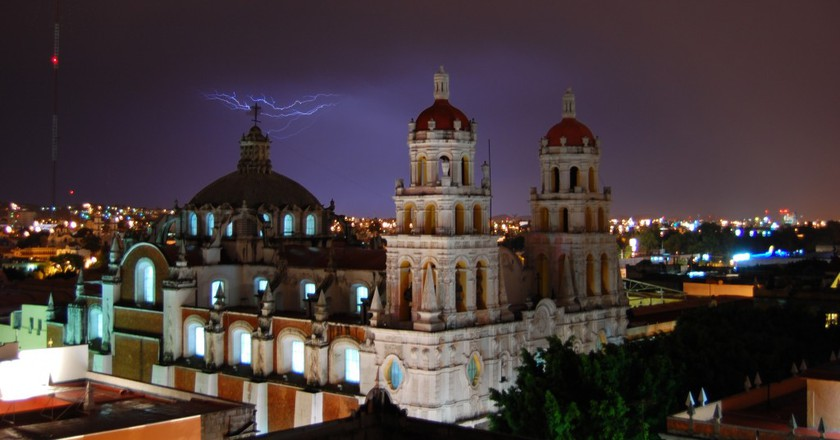 Puebla at night | © Russ Bowling/Flickr