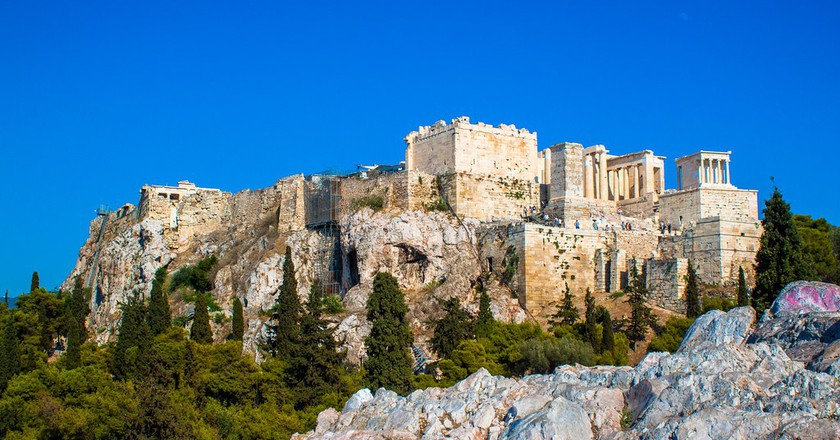 View of the Acropolis from Areopagus, Athens |©Andy Hay/Flickr