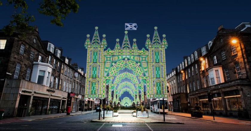 George Street   © David P Scott / Courtesy Of Edinburgh's Christmas