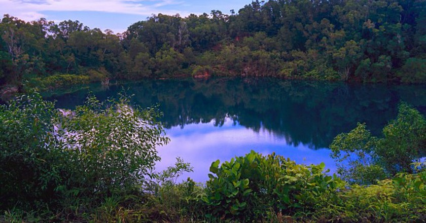 Former Granite Quarry on Pulau Ubin | © Prianka Ghosh