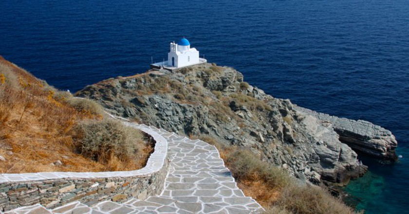 Church of Seven Martyrs, Sifnos   © Nikita/Flickr