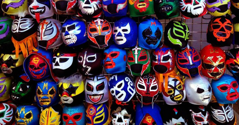 Lucha libre masks | © yameen9000/Flickr