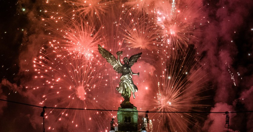 Fireworks in Mexico City | © Eneas De Troya/Flickr