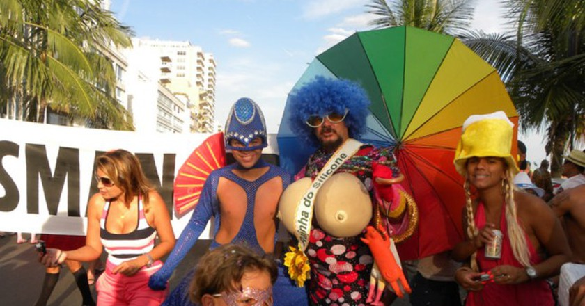 Costumes at carnival are a must |© Allbrazilian/WikiCommons