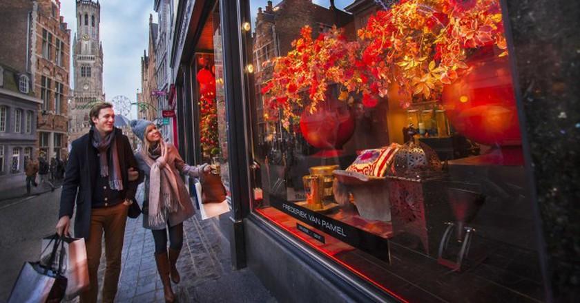 Shopping in Bruges | © Jan D'Hondt/Courtesy of Toerisme Brugge