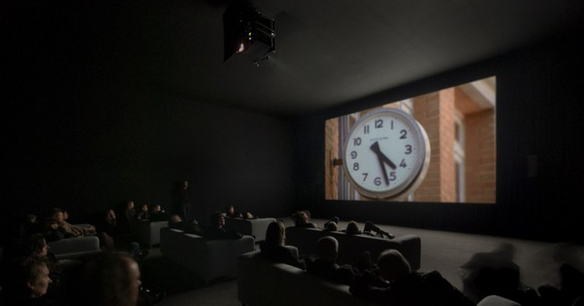 Installation view, Christian Marclay, The Clock, Paula Cooper Gallery, New York, 2011. © Christian Marclay. Courtesy Paula Cooper Gallery, New York