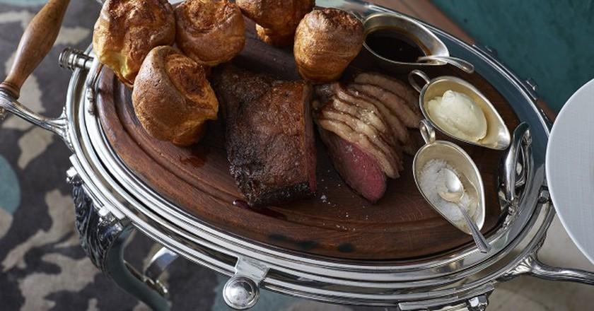 Corrigan's of Mayfair excellent Sunday Roast