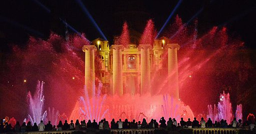 Magic Fountain, Barcelona | © MariaRosaFerre/Wikimedia Commons