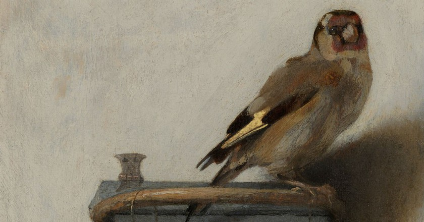 The Goldfinch By Carel Fabricius | © WikiCommons