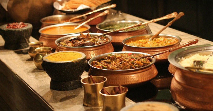 Indian food │© PublicDomainPictures