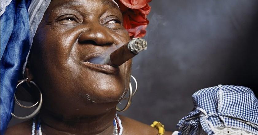 "Juana Rios Rios, ""Juana de Cubana"", Fortune Teller (Cuba), 2012 │© Andres Serrano Courtesy Galerie Nathalie Obadia Paris, Bruxelles"