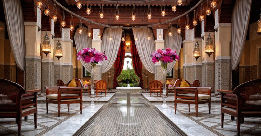Lobby at the Royal Mansour | © Royal Mansour