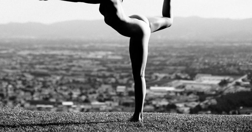 Meet Instagram's Artful Nude Yoga Girl