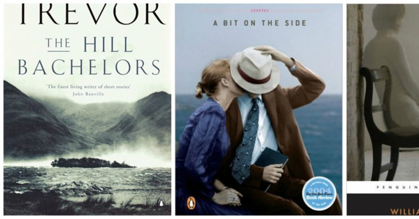 The Hill Bachelors © Penguin Books / A Bit on the Side © Penguin Books / Fools of Fortune © Penguin Classics