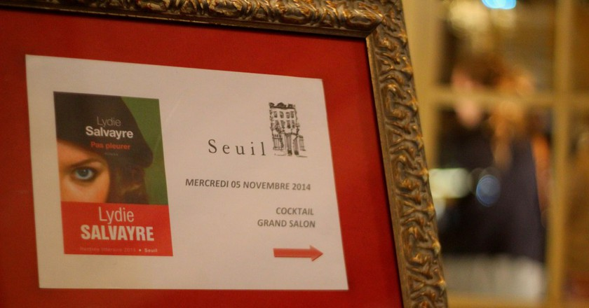 Prix Goncourt winner in 2014 │© ActuaLitté