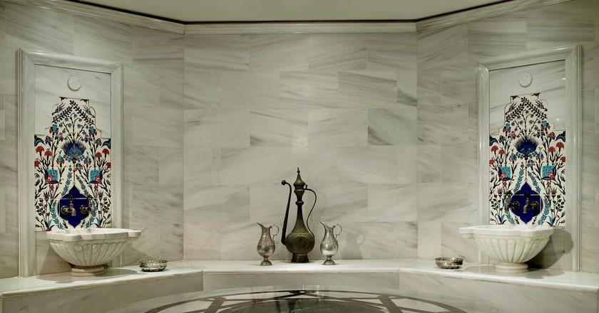 Hamam | Courtesy of the Ritz Carlton Istanbul