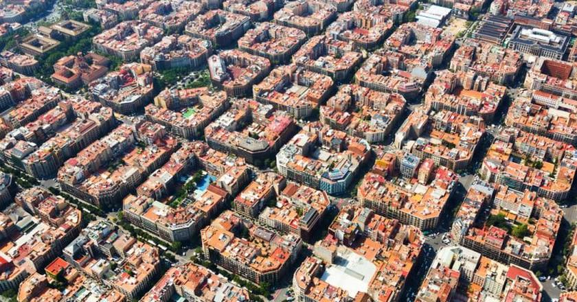 Eixample district of Barcelona | © Iakov Filimonov/Shutterstock