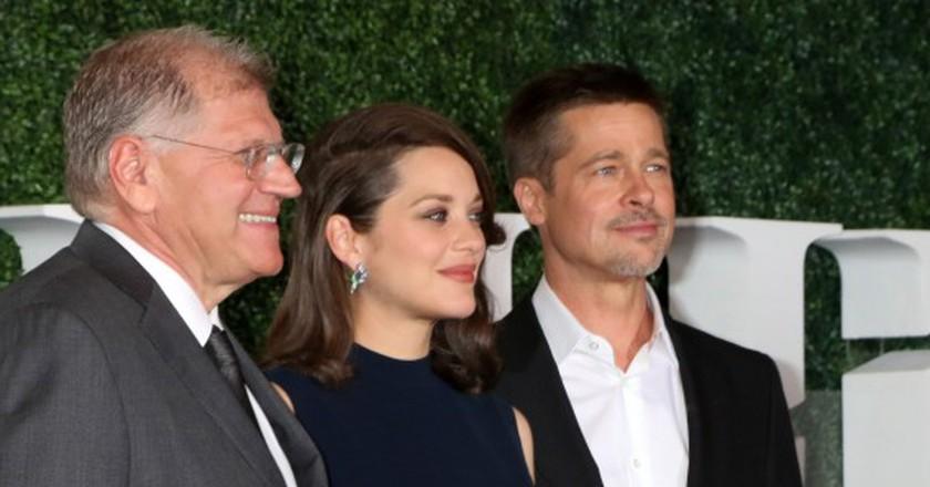 Robert Zemeckis, Marion Cotillard and Brad Pitt | © Helga Esteb / Shutterstock.com