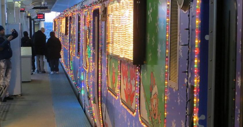 The CTA Holiday Train | © David Wilson/WikiCommons