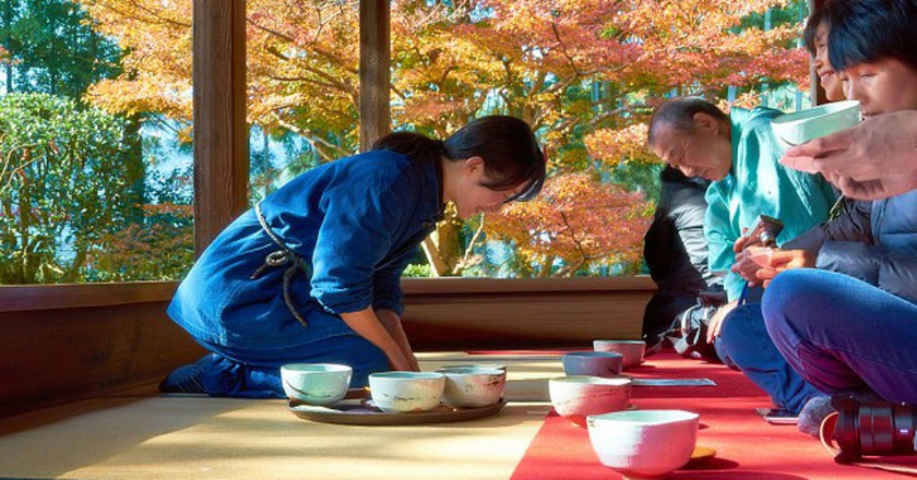 Japanese tea ceremony | © Moyan_Brenn/Flickr