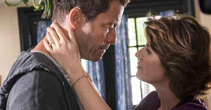Dominic West and Irène Jacob in 'The Affair'   © Showtime