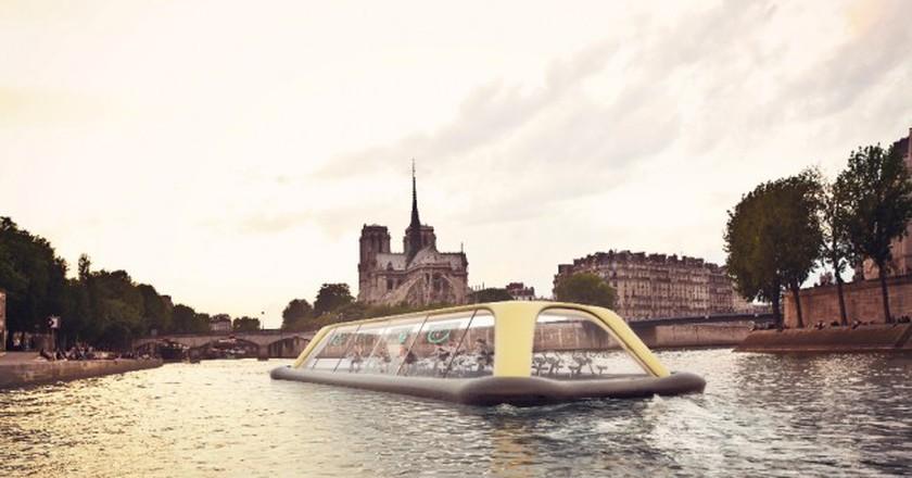 The Paris Navigating Gym at Notre-Dame │© Carlo Ratti Associati