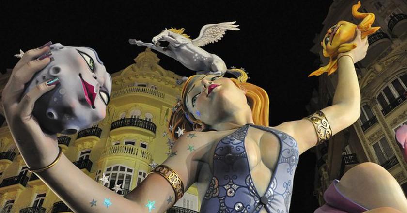 La Fallas, Valencia | © Keith  Ellwood/WikiCommons