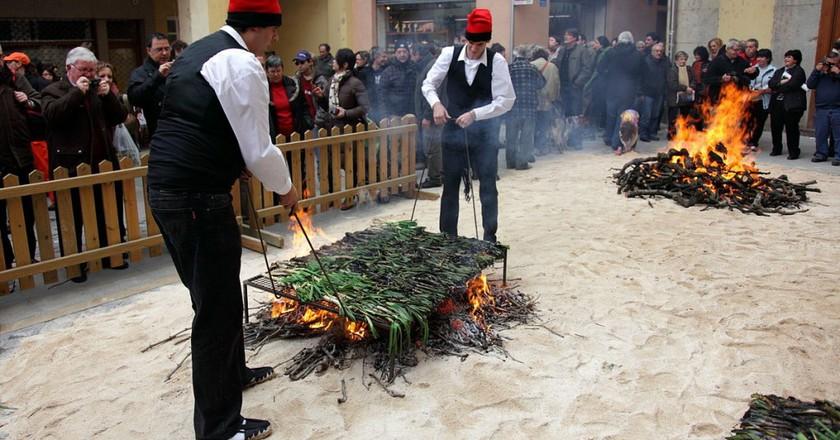 Calçot Festival, Valls, Catalonia | ©flydime / Wikipedia