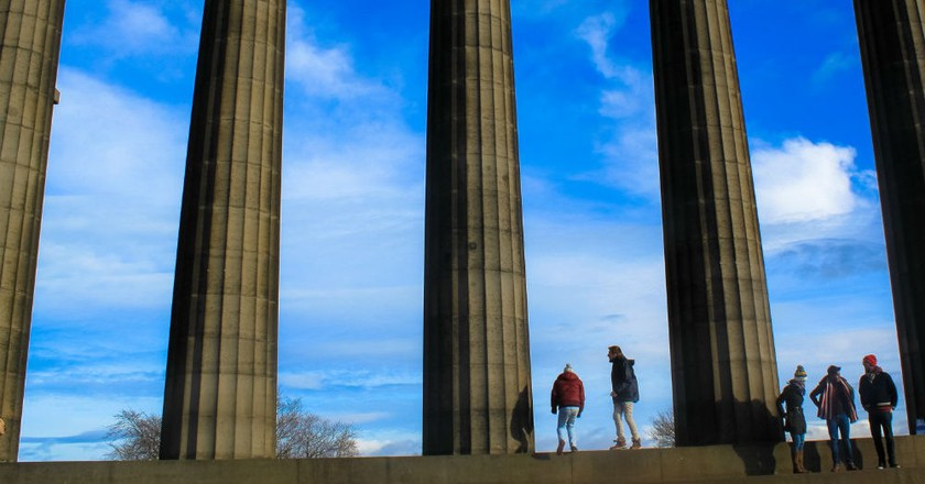 National Monument At Calton Hill   © Andy Hay/Flickr